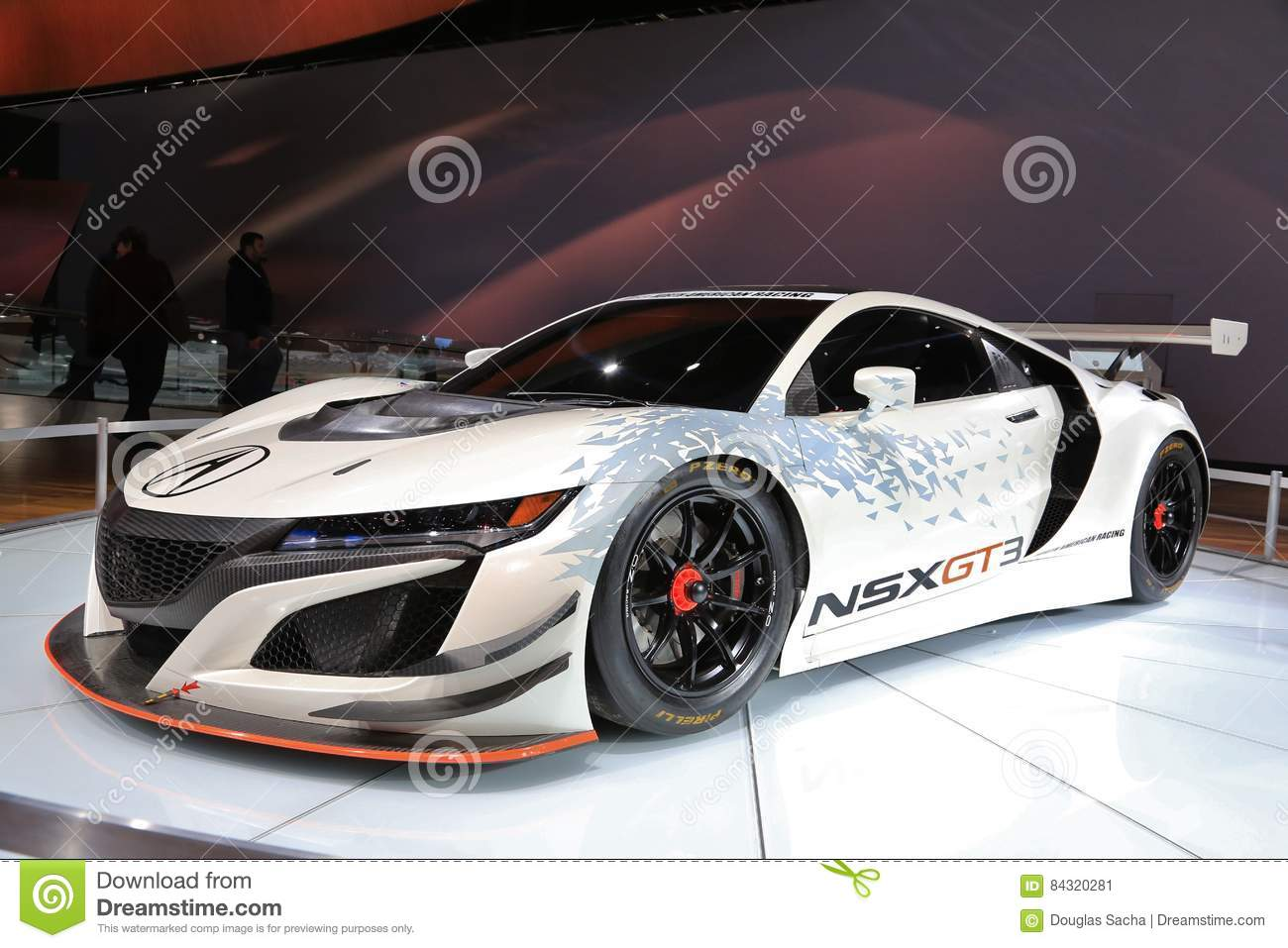 New Vehicles 2017 >> Acura Nsx Gt3 On Display At The 2017 North American