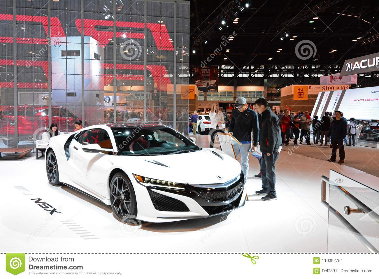 Acura NSX Sports Car Editorial Stock Image Image Of Event - Mccormick place car show
