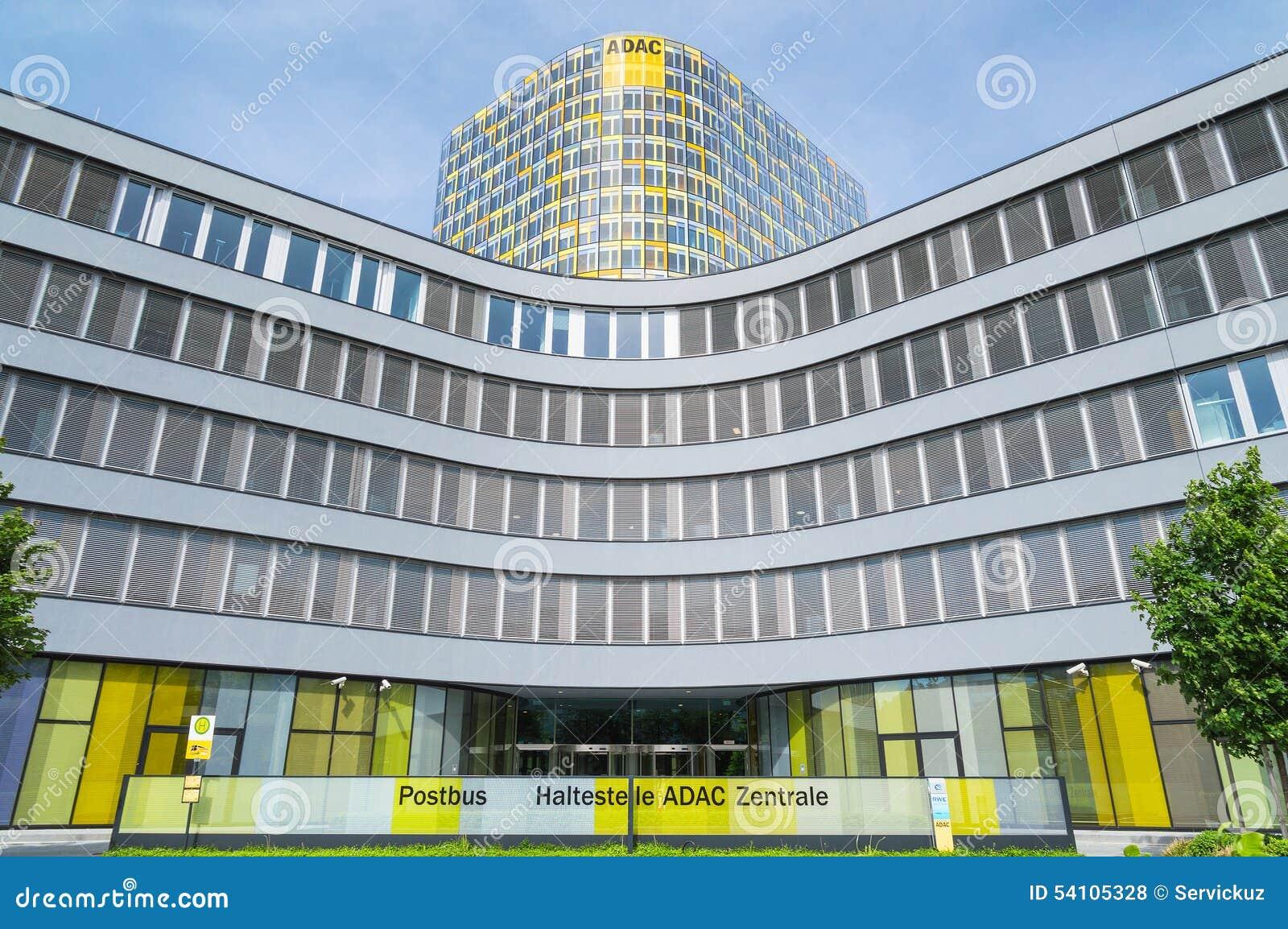 ADAC Association European Automobile Club In Germany Editorial Stock