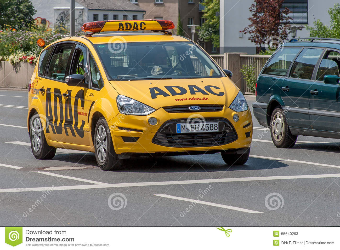 ADAC Service Car The Allgemeiner Deutscher Automobil Club EV Is Germanys And Europes Largest Automobile With More Than 18 Million Members In