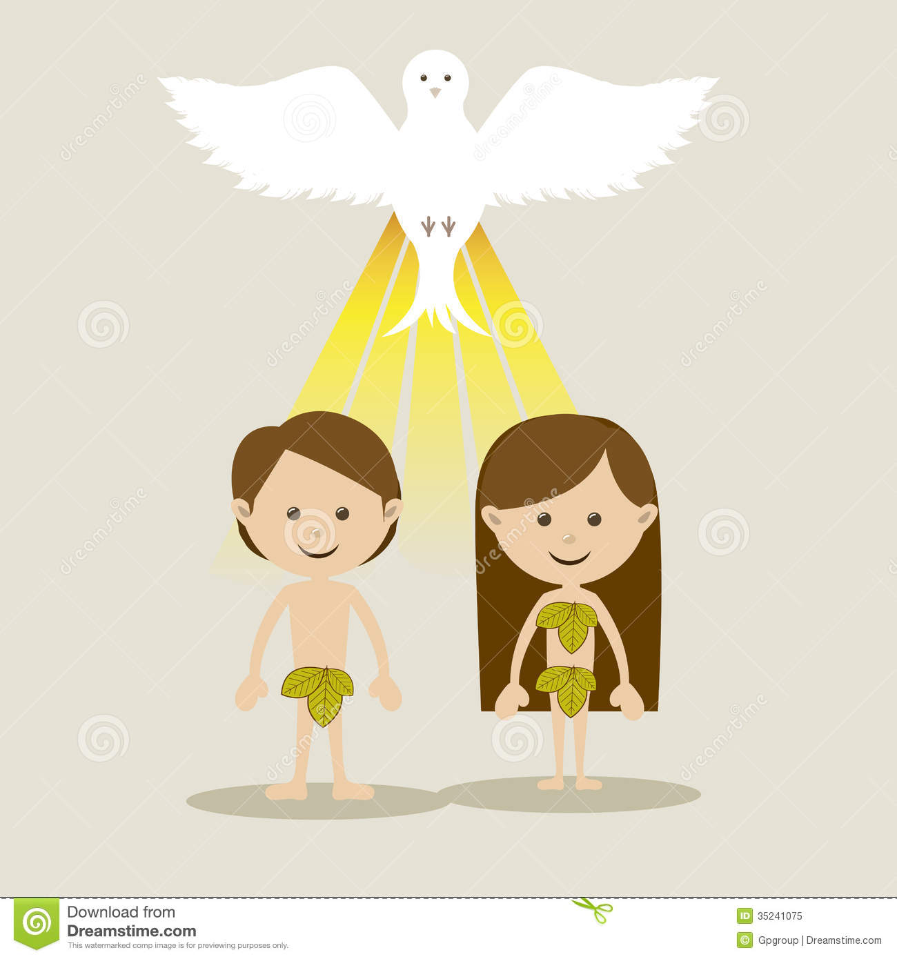 human nature in the story of adam and eve The garden of eden story: interpretations of adam and eve's first parents with a curious nature and a drive to excel, both eve and adam were anxious.