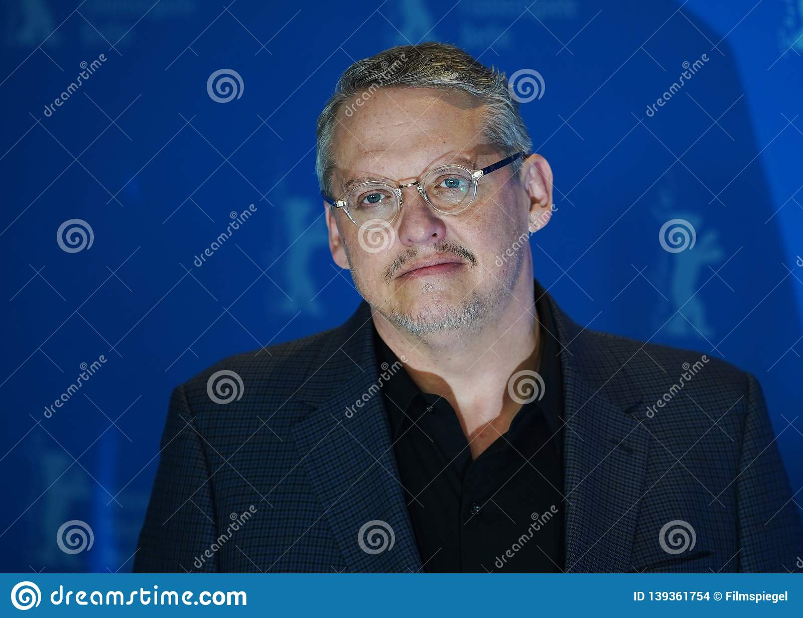 Adam McKay Poses At The `Vice Editorial Stock Image - Image of code