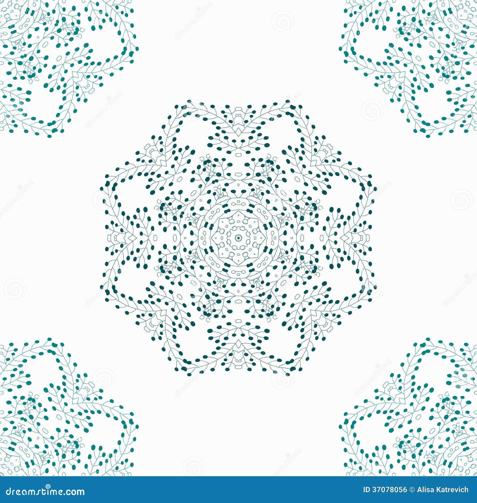 Download Adamaszkowy Bezszwowy Wzór Dla Projekta. Ilustracja Wektor - Ilustracja złożonej z rama, arte: 37078056