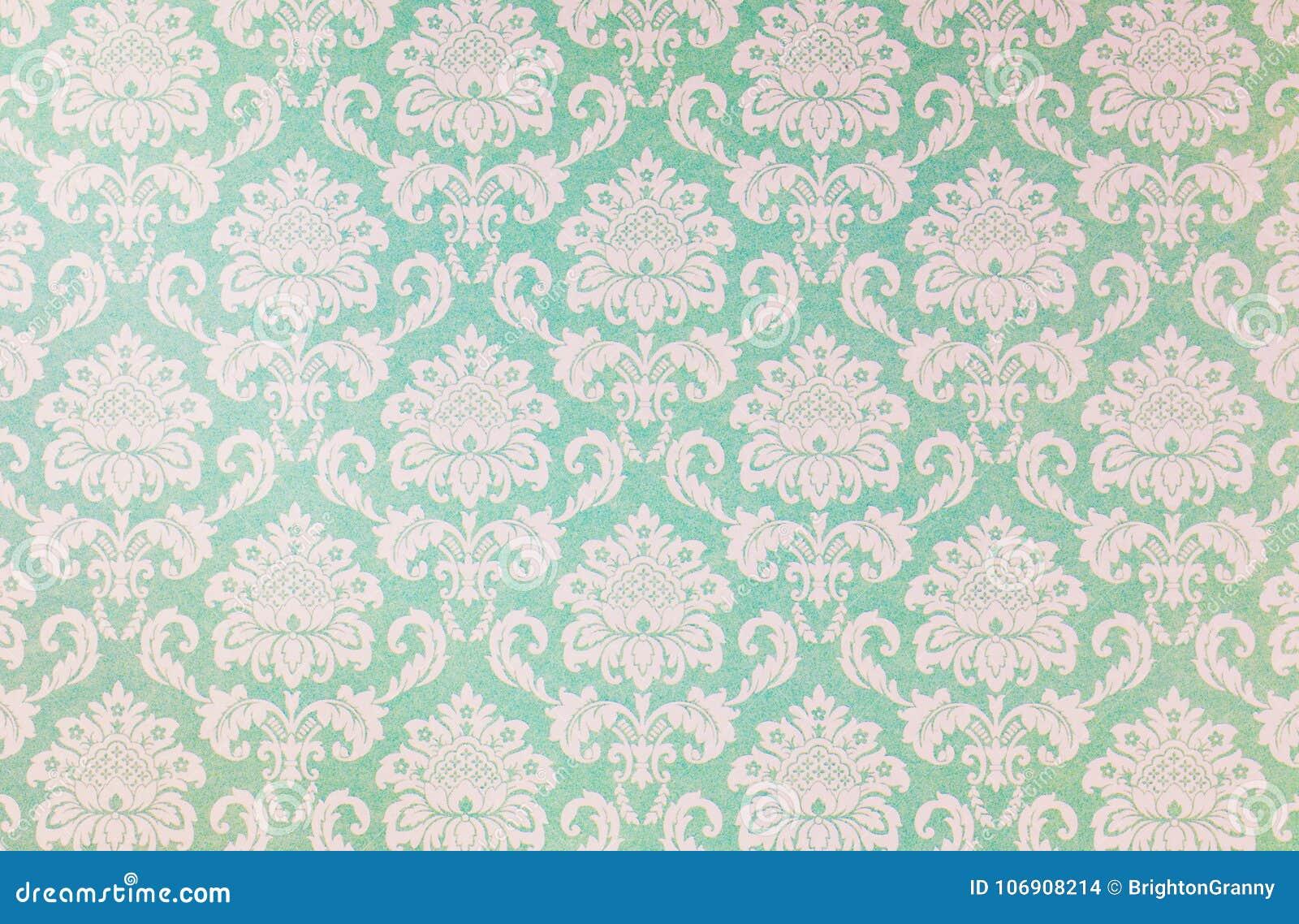 Adamaszkowy powtórka wzór na starym papierze