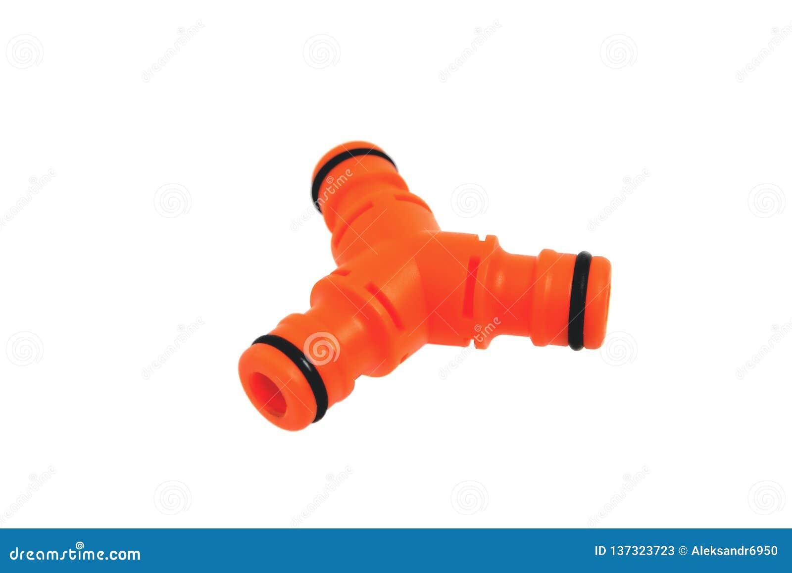 Deboucher Canalisation Avec Tuyau Arrosage adaptateur triple pour les tuyaux de arrosage, fond blanc