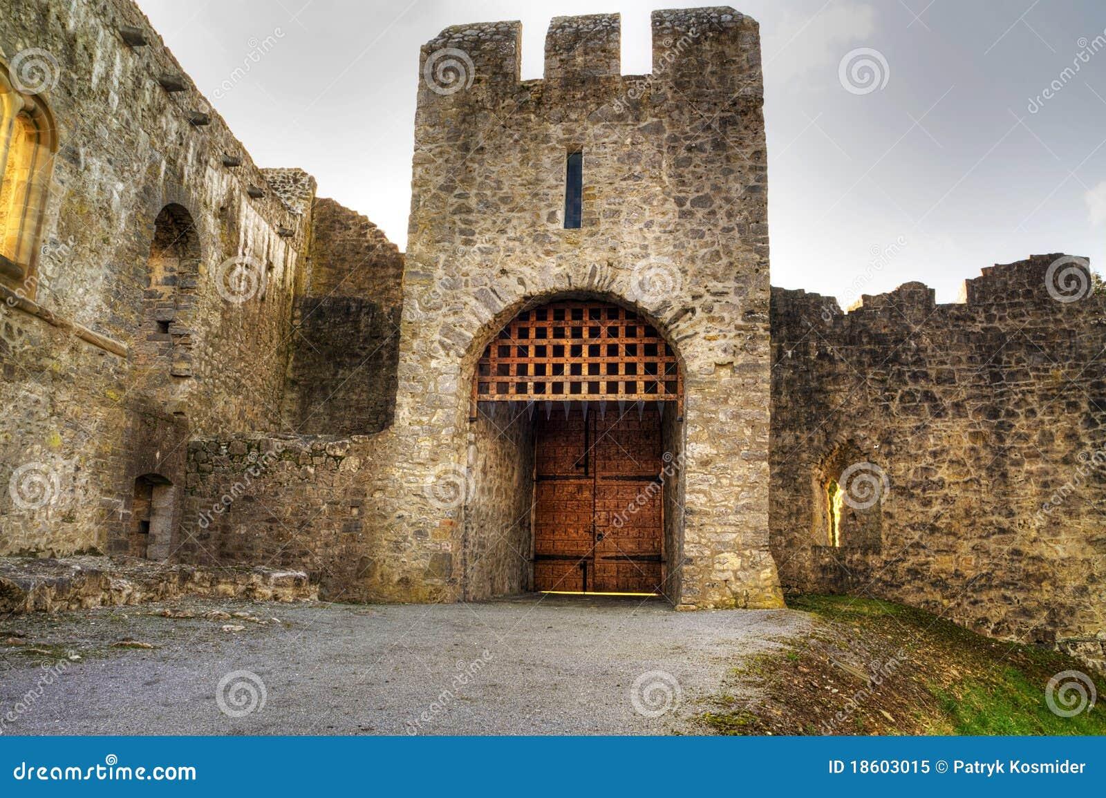 Adare πύλη κάστρων hdr