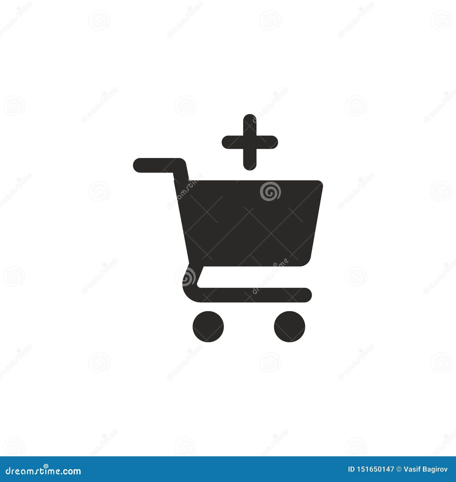 Add, buy, shop vector icon. Simple element illustration from UI concept. Add, buy, shop vector icon. Finance concept vector