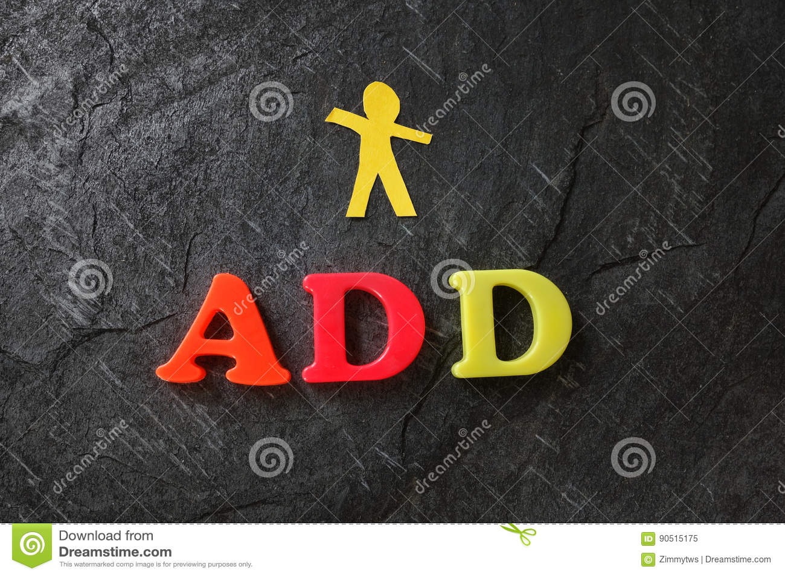 ADD paper child