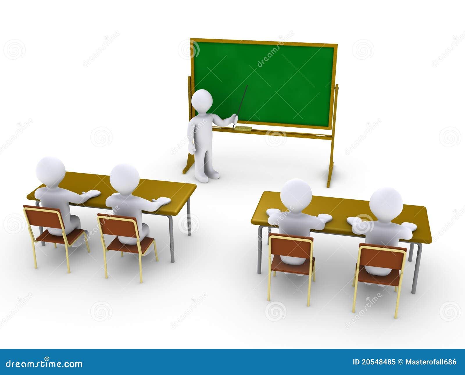 Addestramento di affari come a scuola