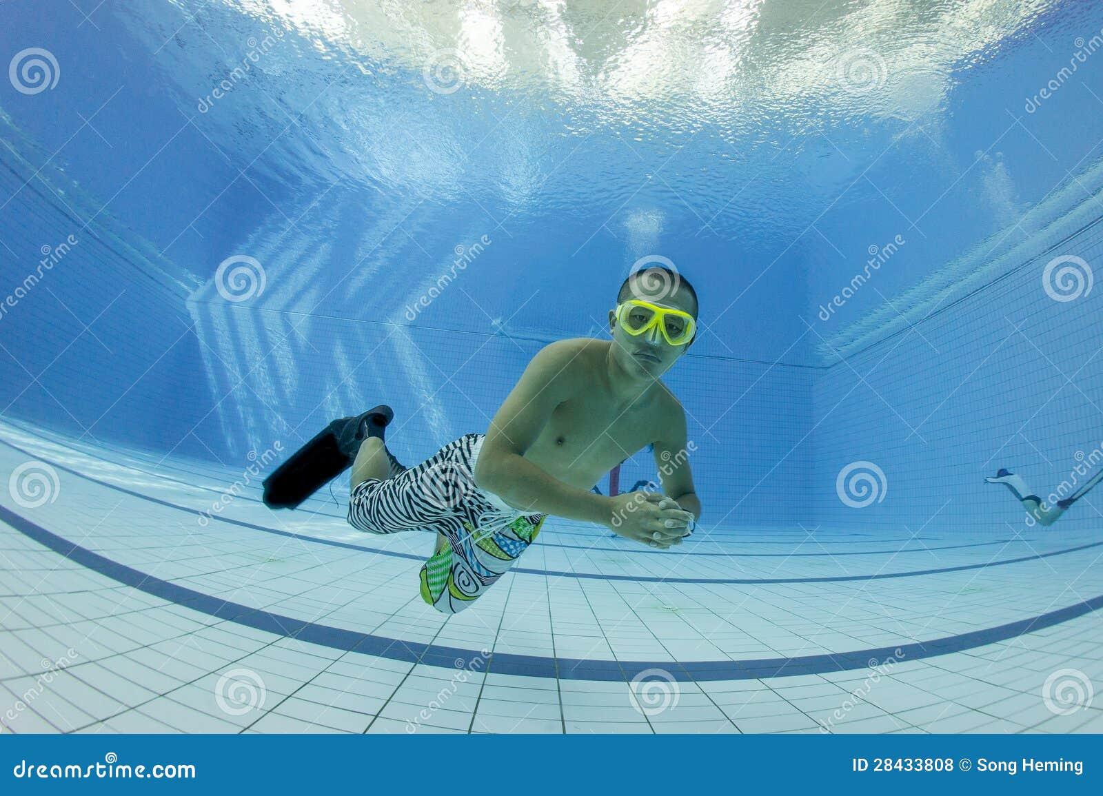 Addestramento di immersione senza scafandro