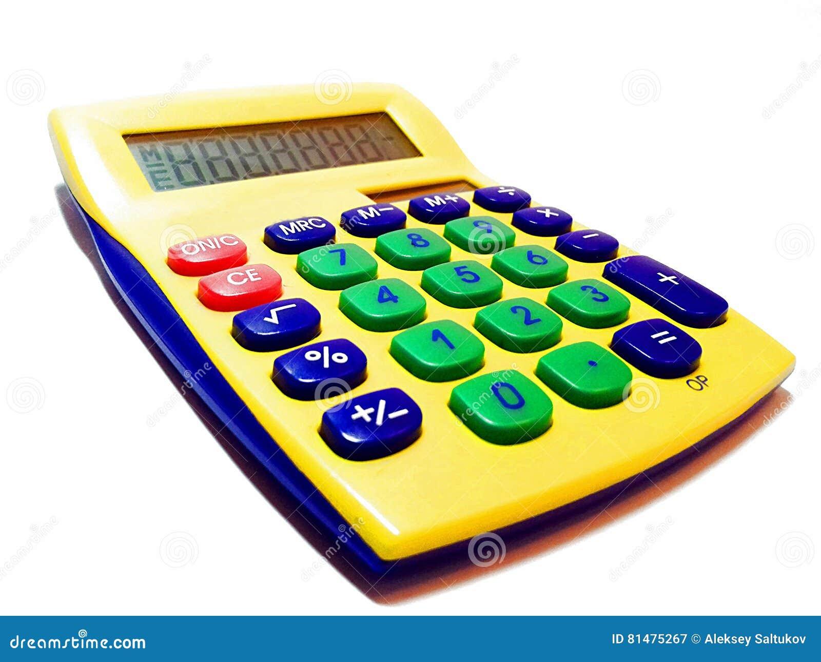 Adding Machine - Calculator Stock Image - Image of counting