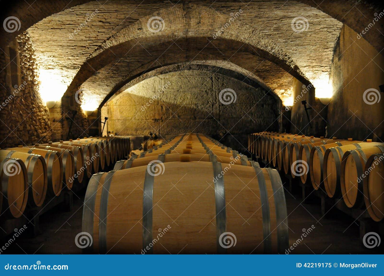 Adega de vinho de França