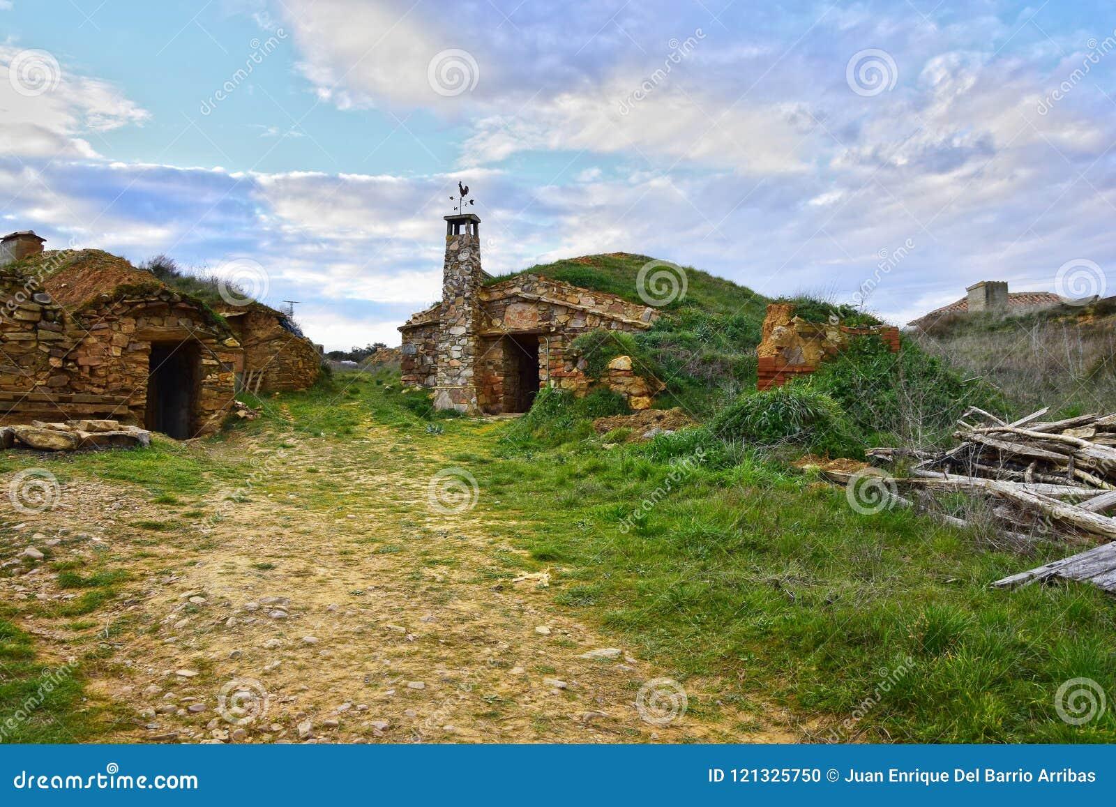 Adega velha na província da Espanha de Zamora