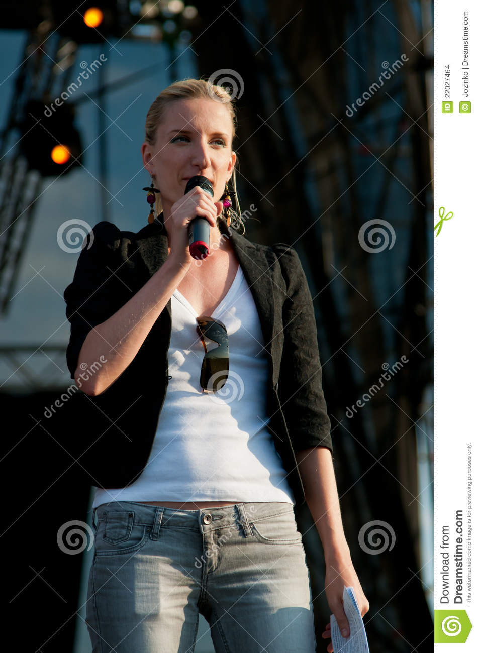 Adela editorial stock image  Image of stage, people, girl