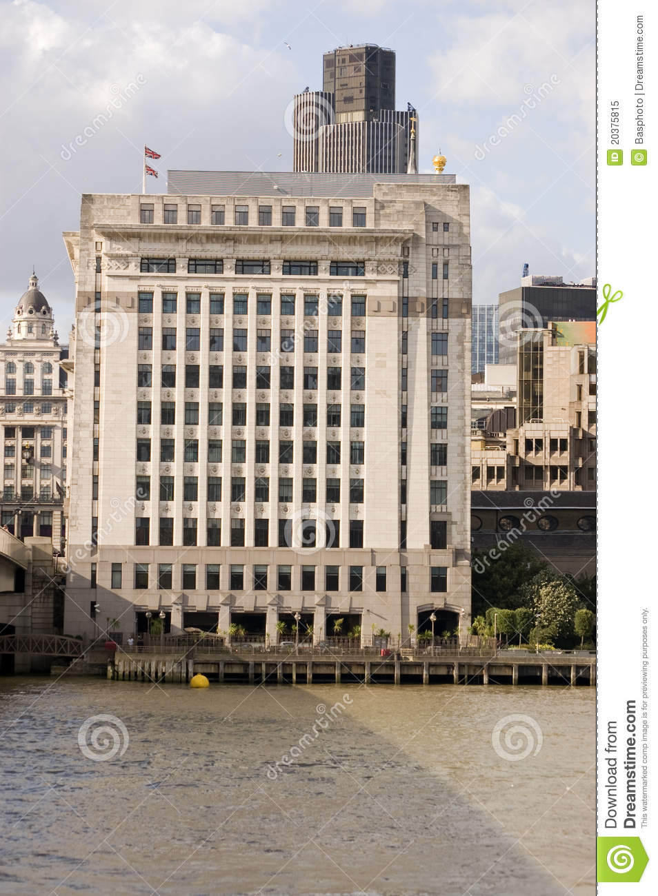 Adelaide house city of london royalty free stock photo for Adelaide house
