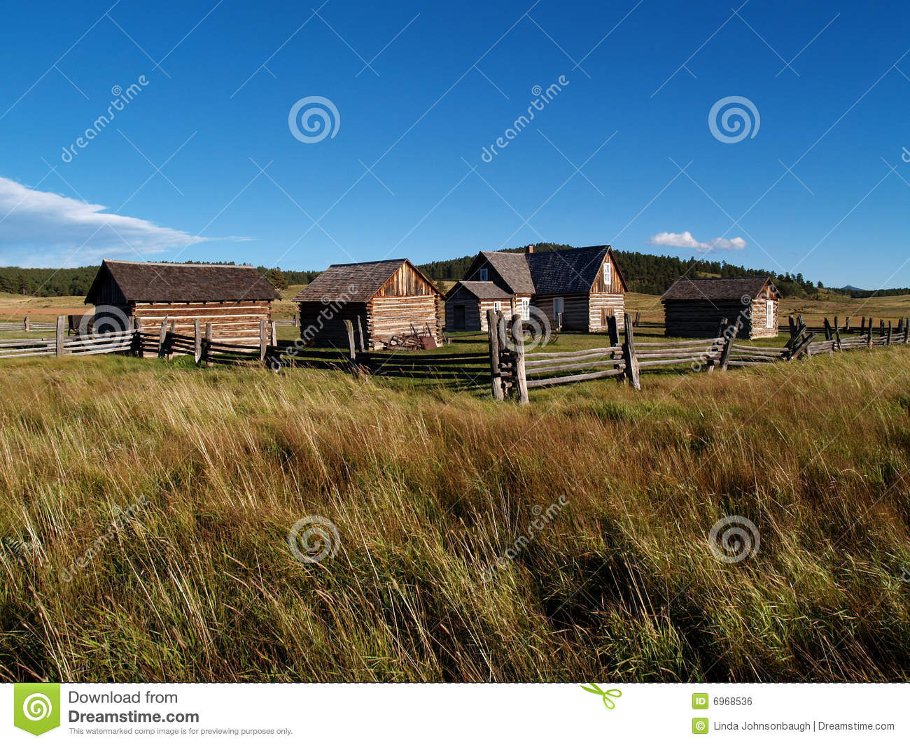 Adeline hornbek homestead royalty free stock image image for Free homestead