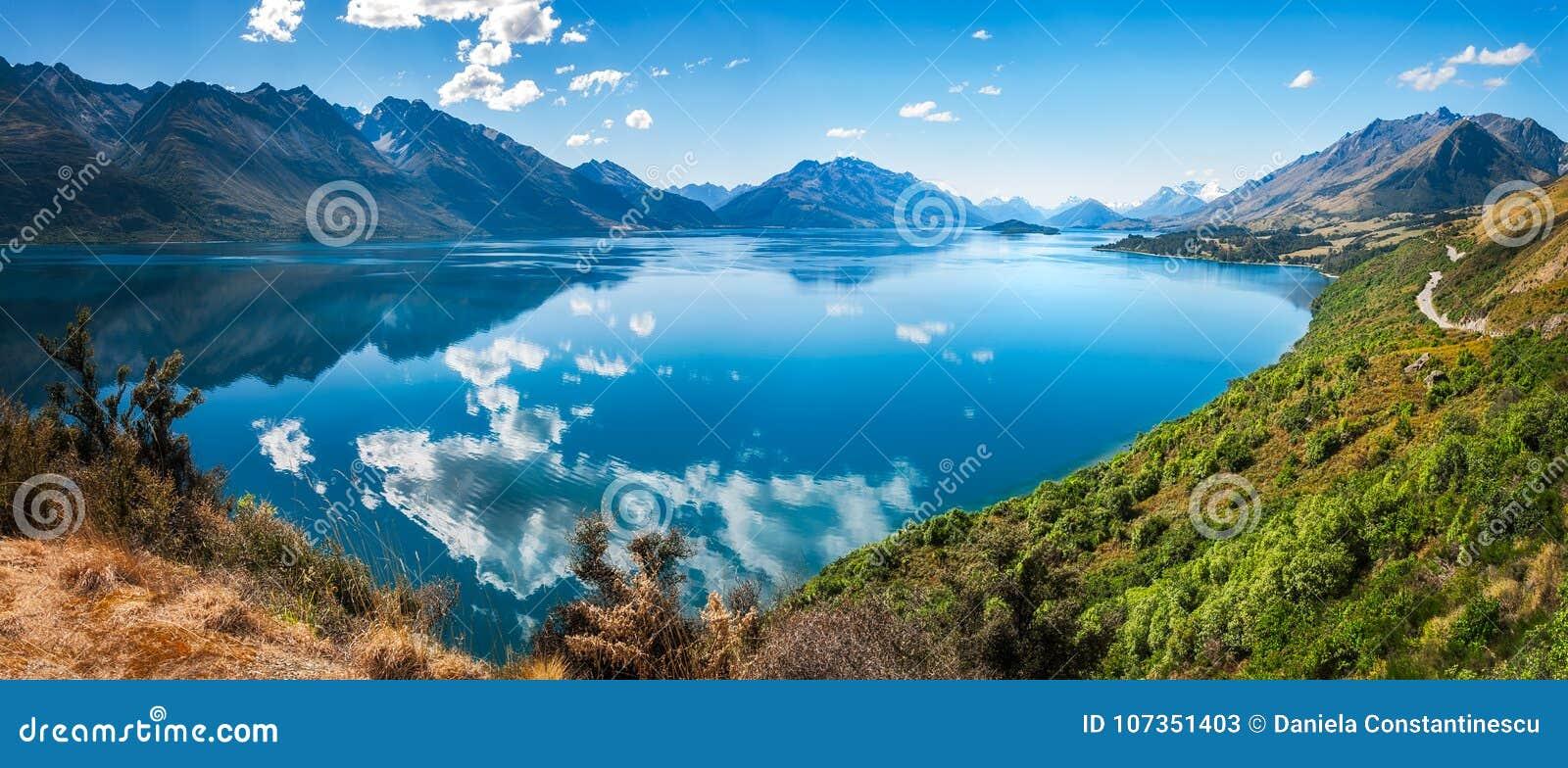 Adembenemende Mening bij Meer Wakatipu, Nieuw Zeeland