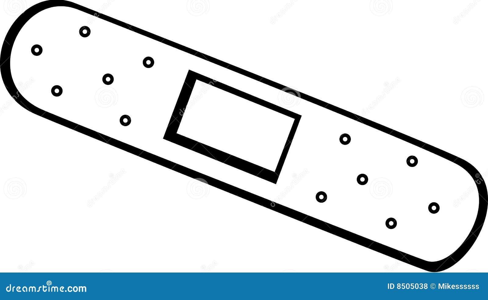 Adhesive Bandage Vector Illustration Royalty Free Stock Photos - Image ...