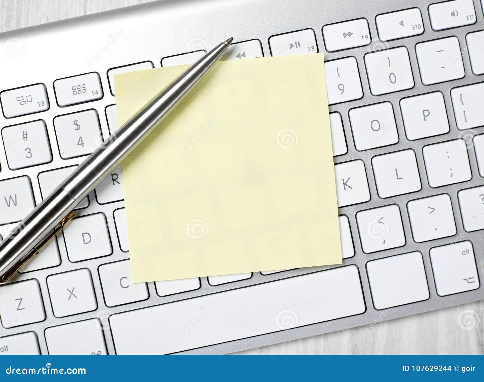 Adhesive notatki pióro