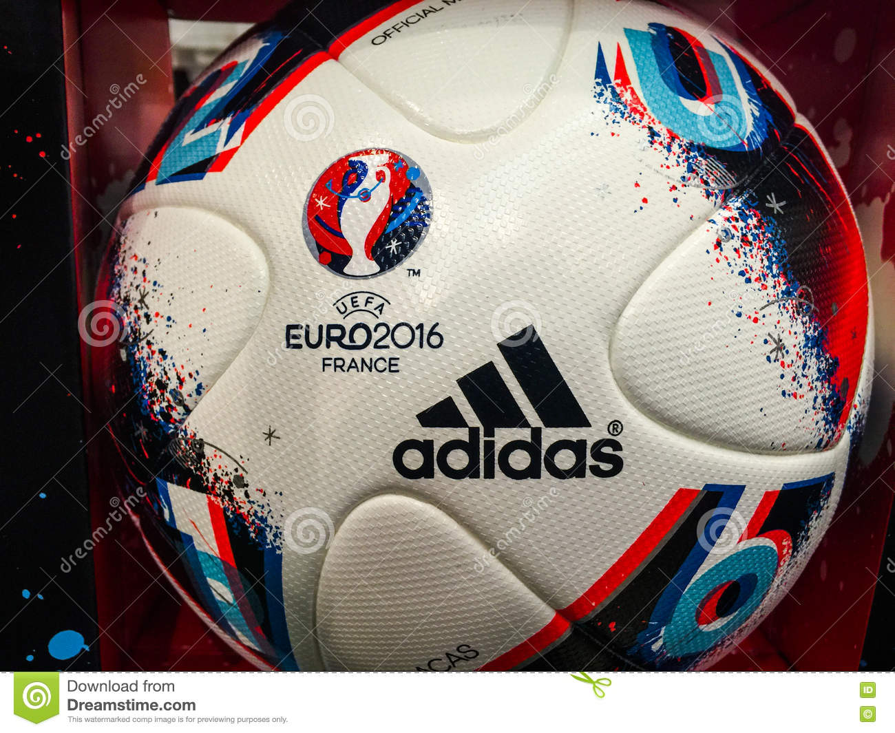 adidas beau jeu official match ball for the uefa euro 2016. Black Bedroom Furniture Sets. Home Design Ideas