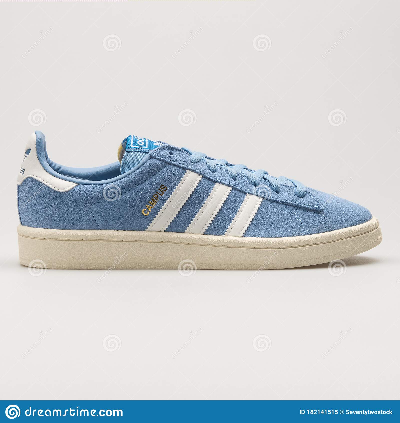 película Vaca Mayor  Adidas Campus Blue And White Sneaker Editorial Image - Image of running,  blue: 182141515