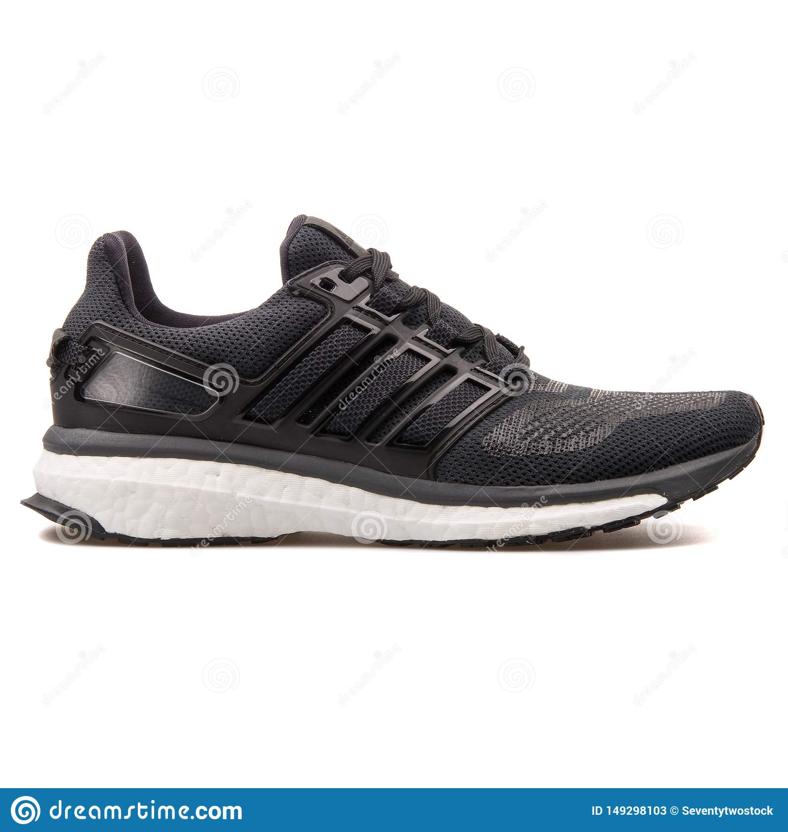 Adidas Energy Boost 3 Black Sneaker Editorial Stock Photo - Image ...