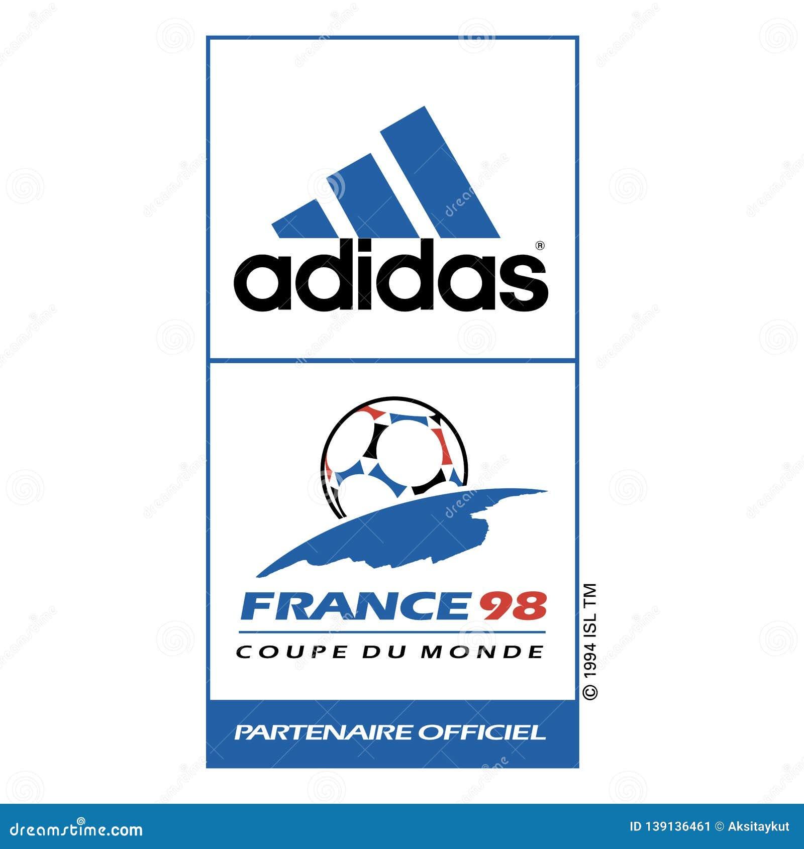 Adidas France98 Sponsor Logo Sports Commercial Editorial