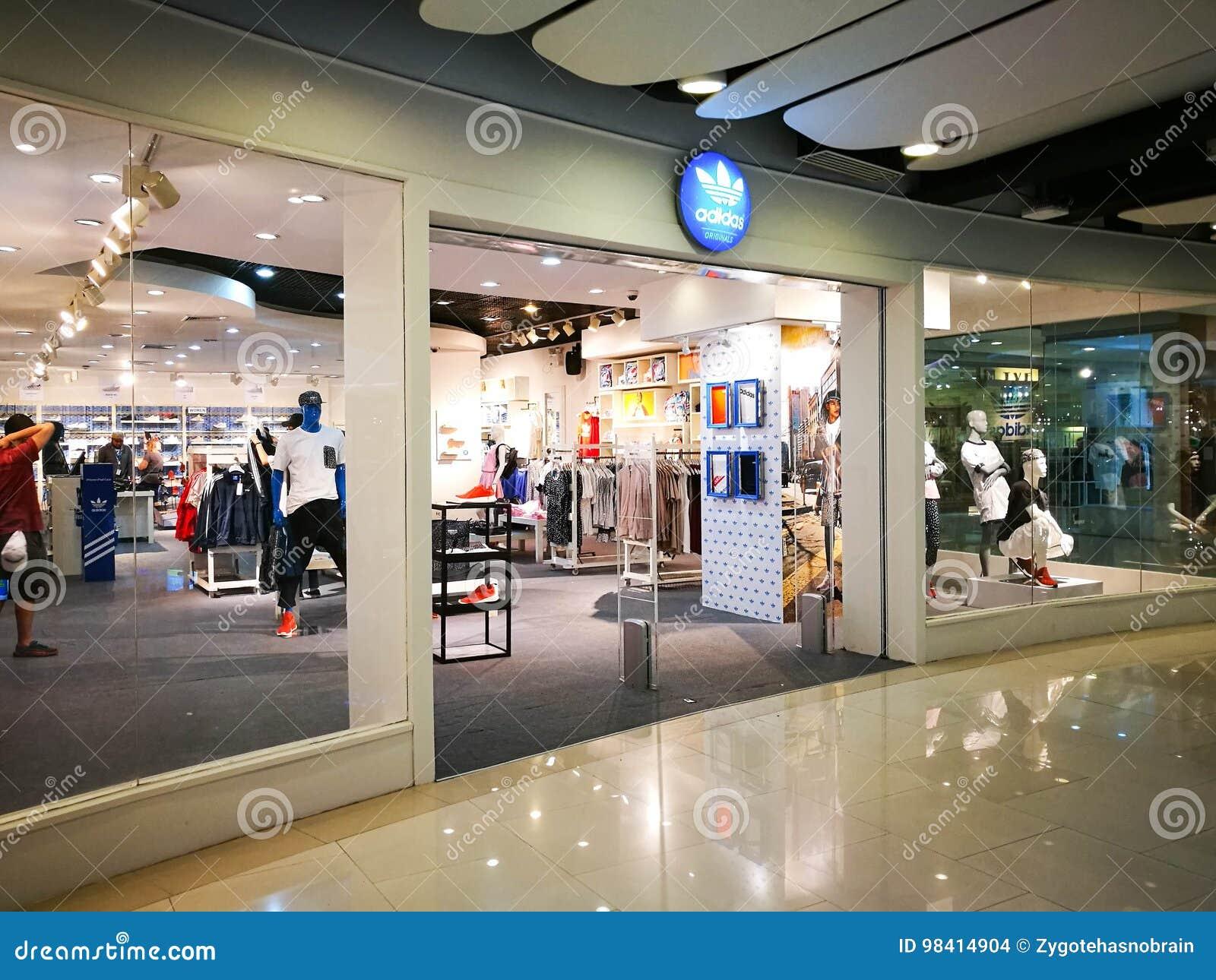 grande vente 4c66c bc654 Adidas Originals Shop editorial stock image. Image of 2017 ...