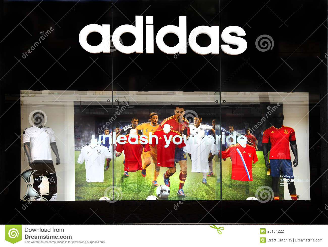 Adidas Retail Sports Store Editorial Photography Image