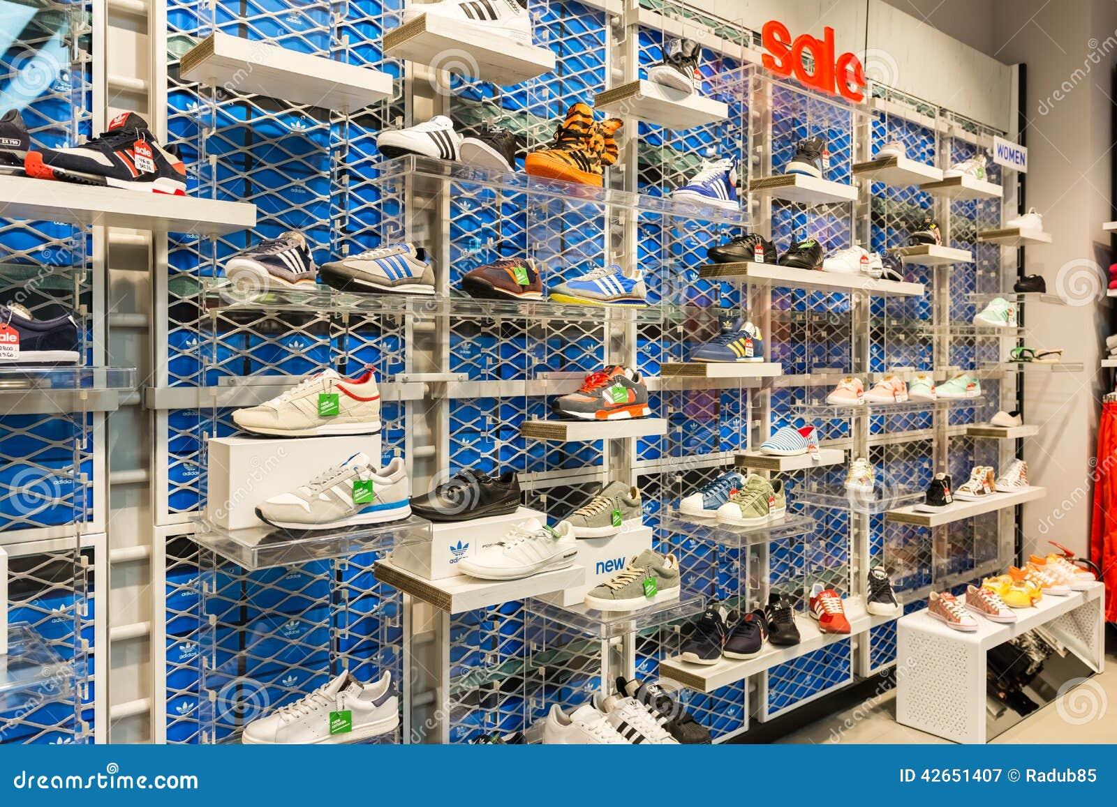 adidas shoe store
