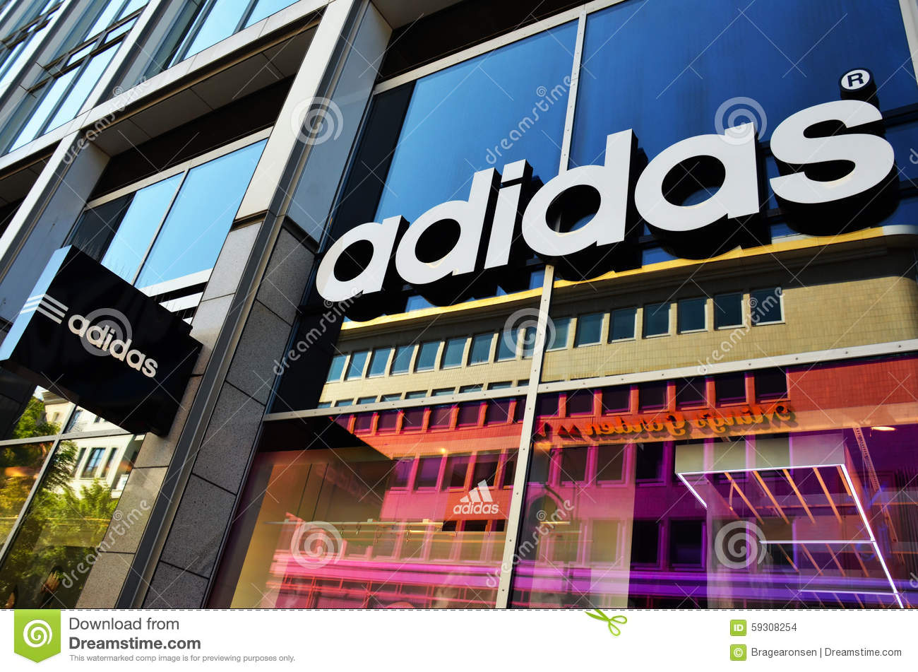 adidas the largest sporting company marketing essay Adidas corporation became a world leader in the market of sporting goods and sports marketing guided by the need to reach a wider market, the company started.