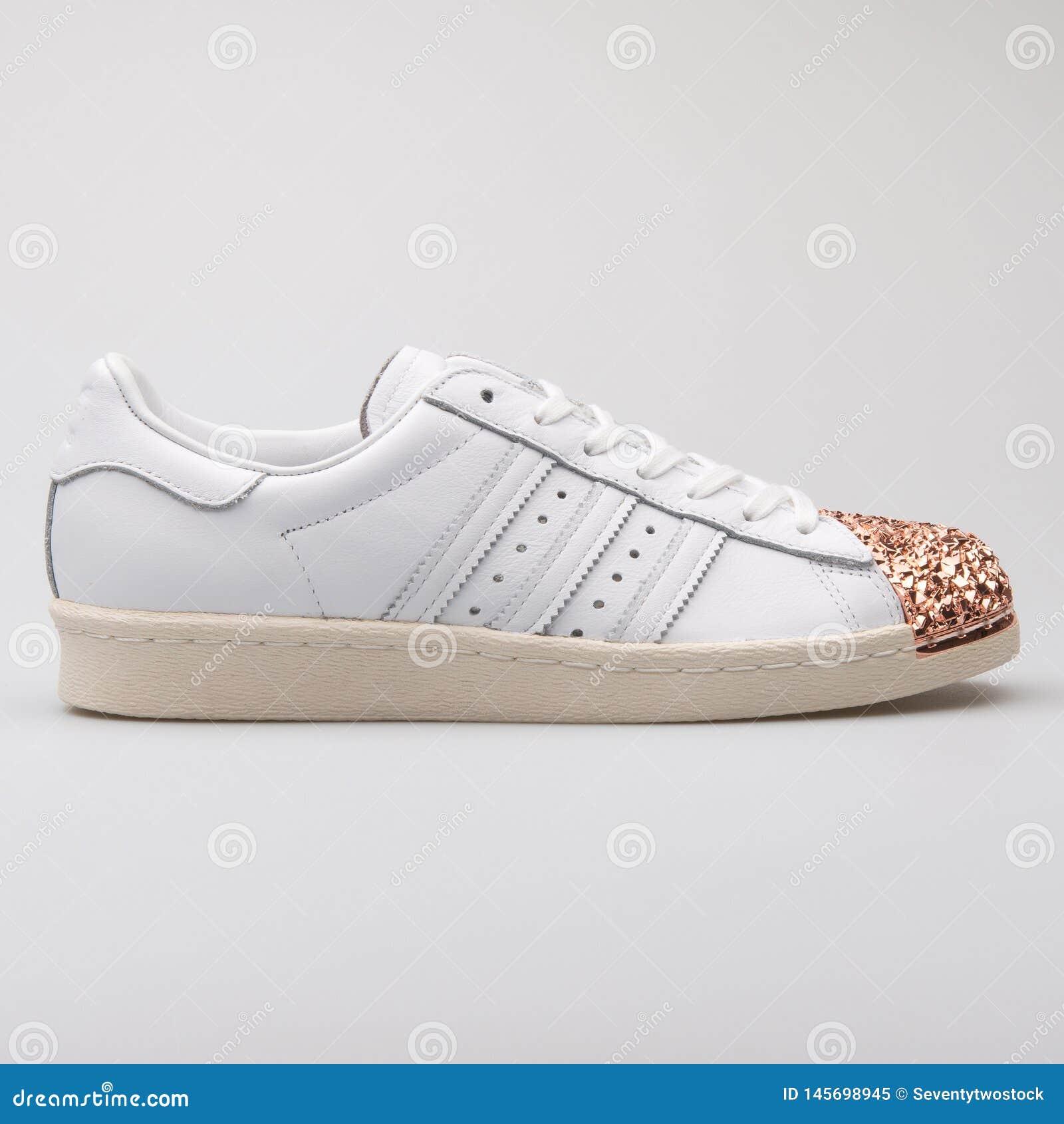 adidas superstar 80s white copper