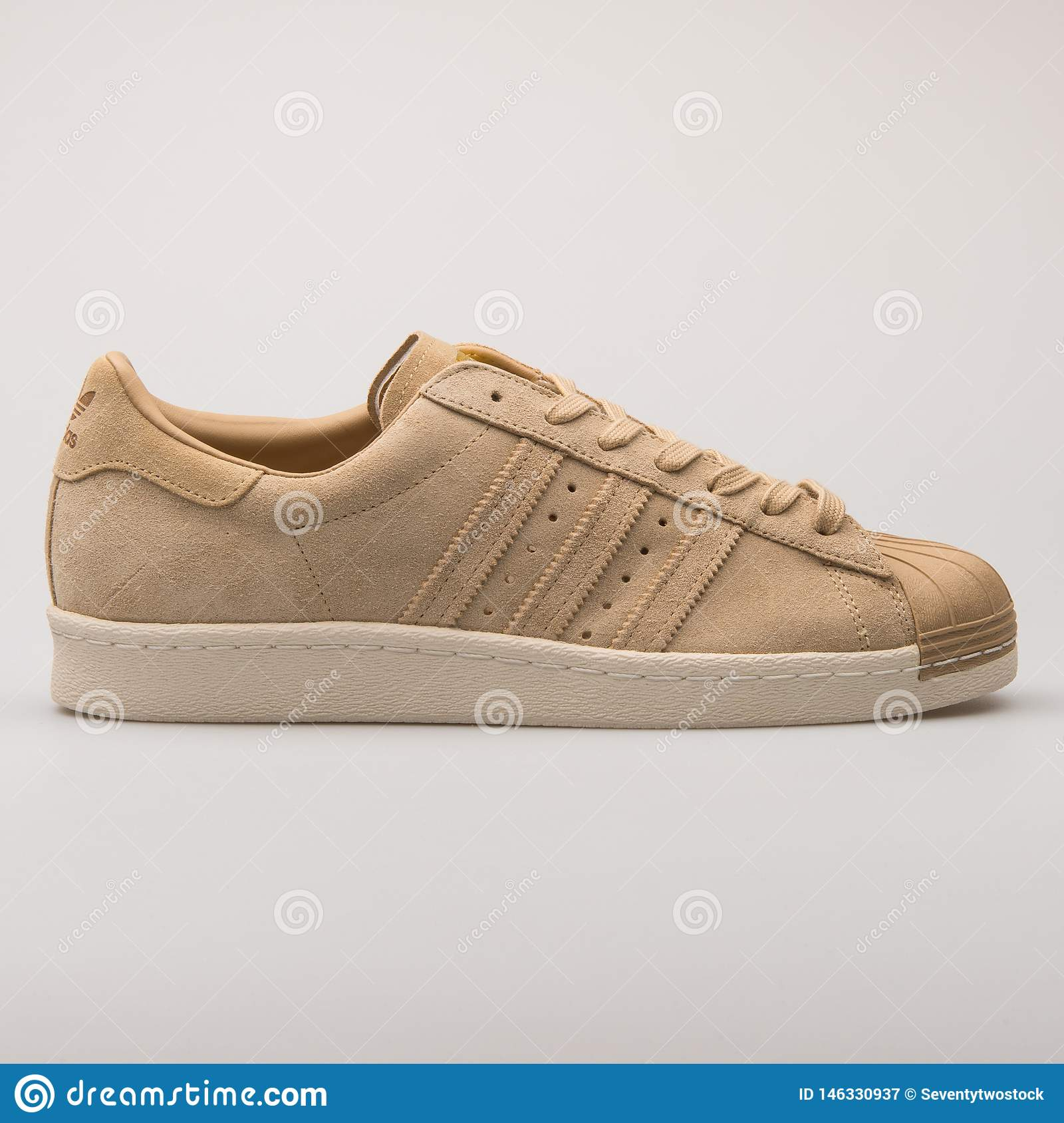 new product 6d172 2bc97 Adidas Superstar 80s Khaki Sneaker Editorial Photography ...