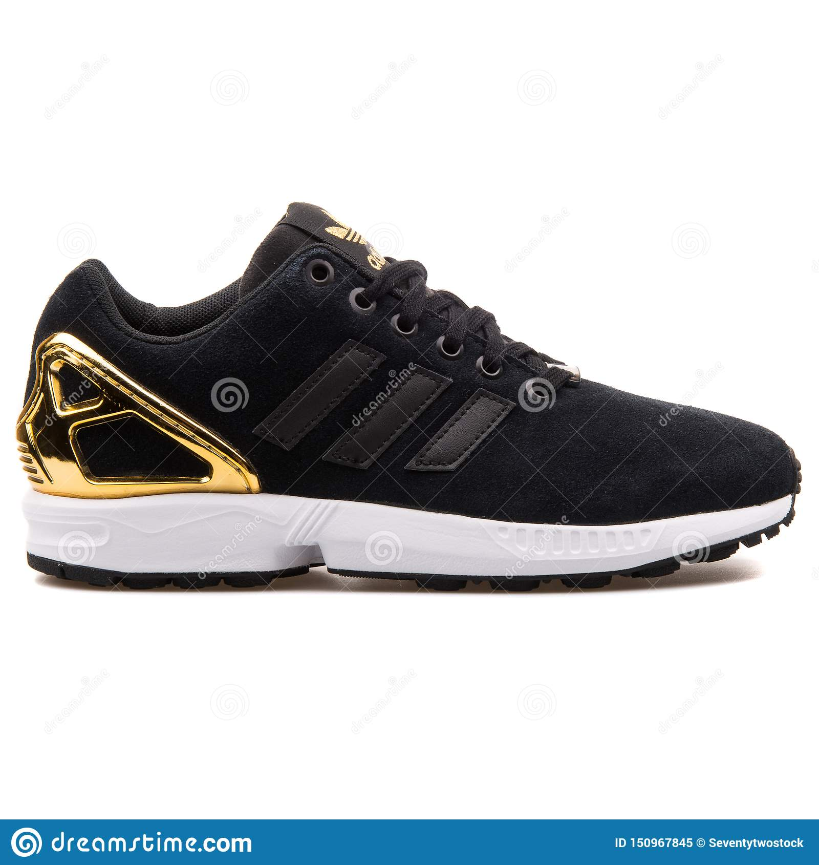 Adidas Zx Flux Black Gold WIY59 - AGBC