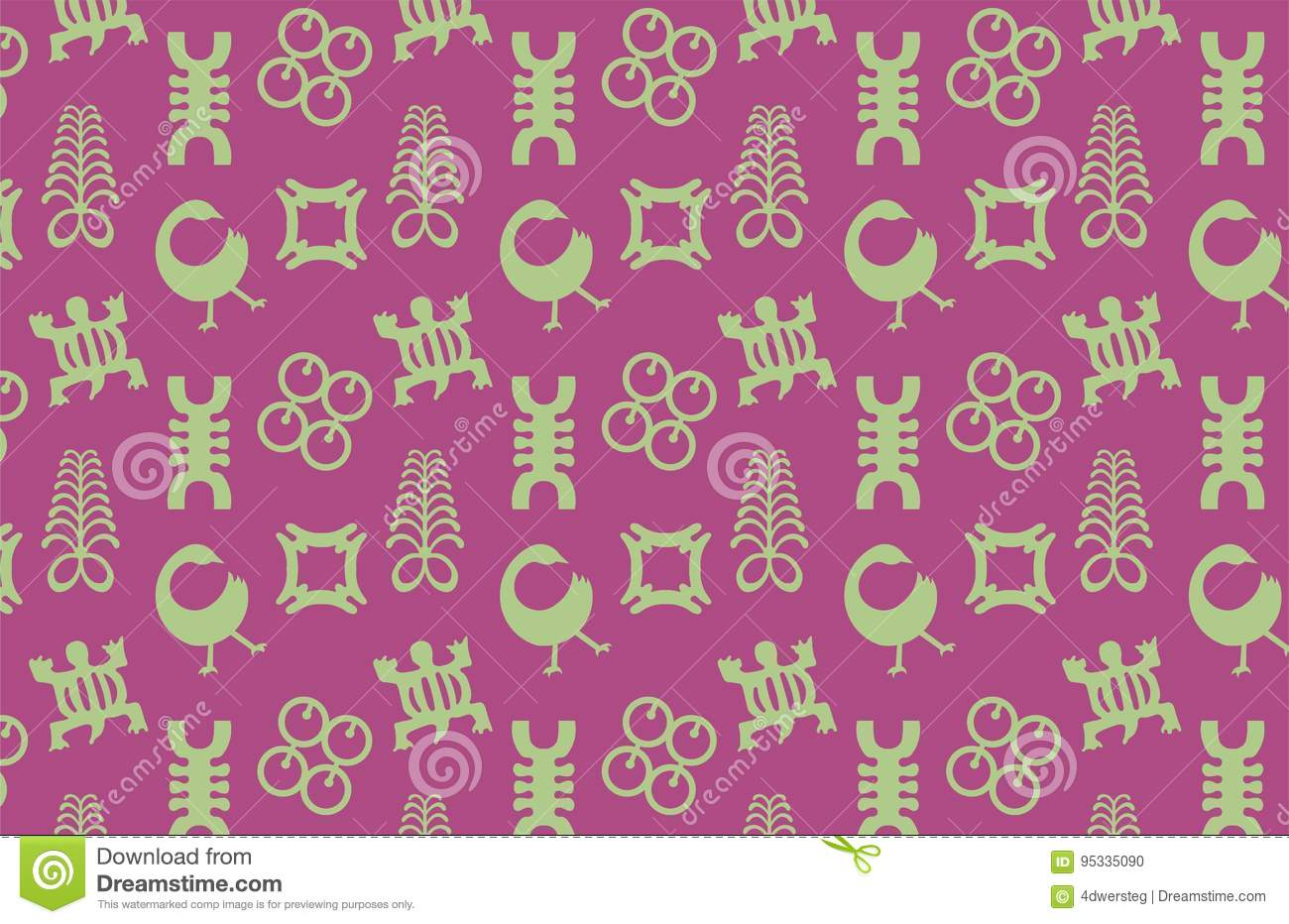 Adinkra symbols pattern stock vector illustration of seamless adinkra symbols pattern biocorpaavc Image collections