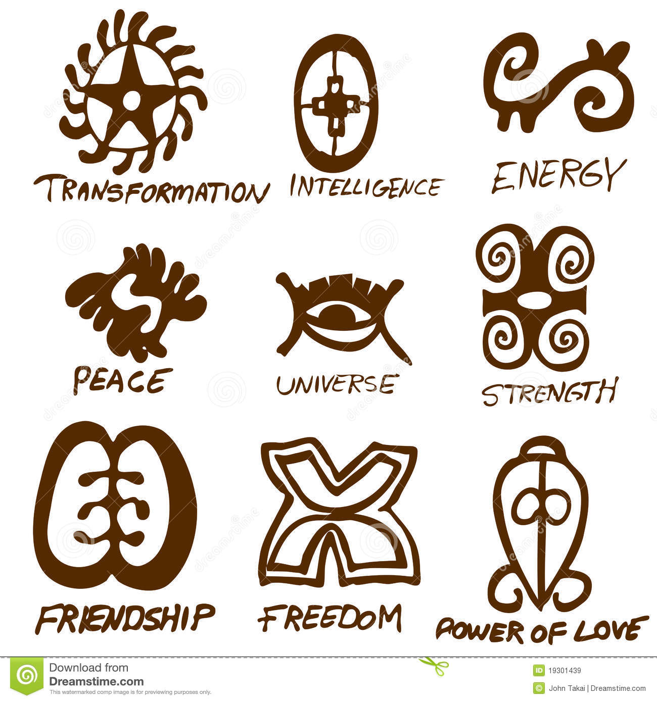 Adinkra symbols set two stock vector illustration of primitive adinkra symbols set two biocorpaavc