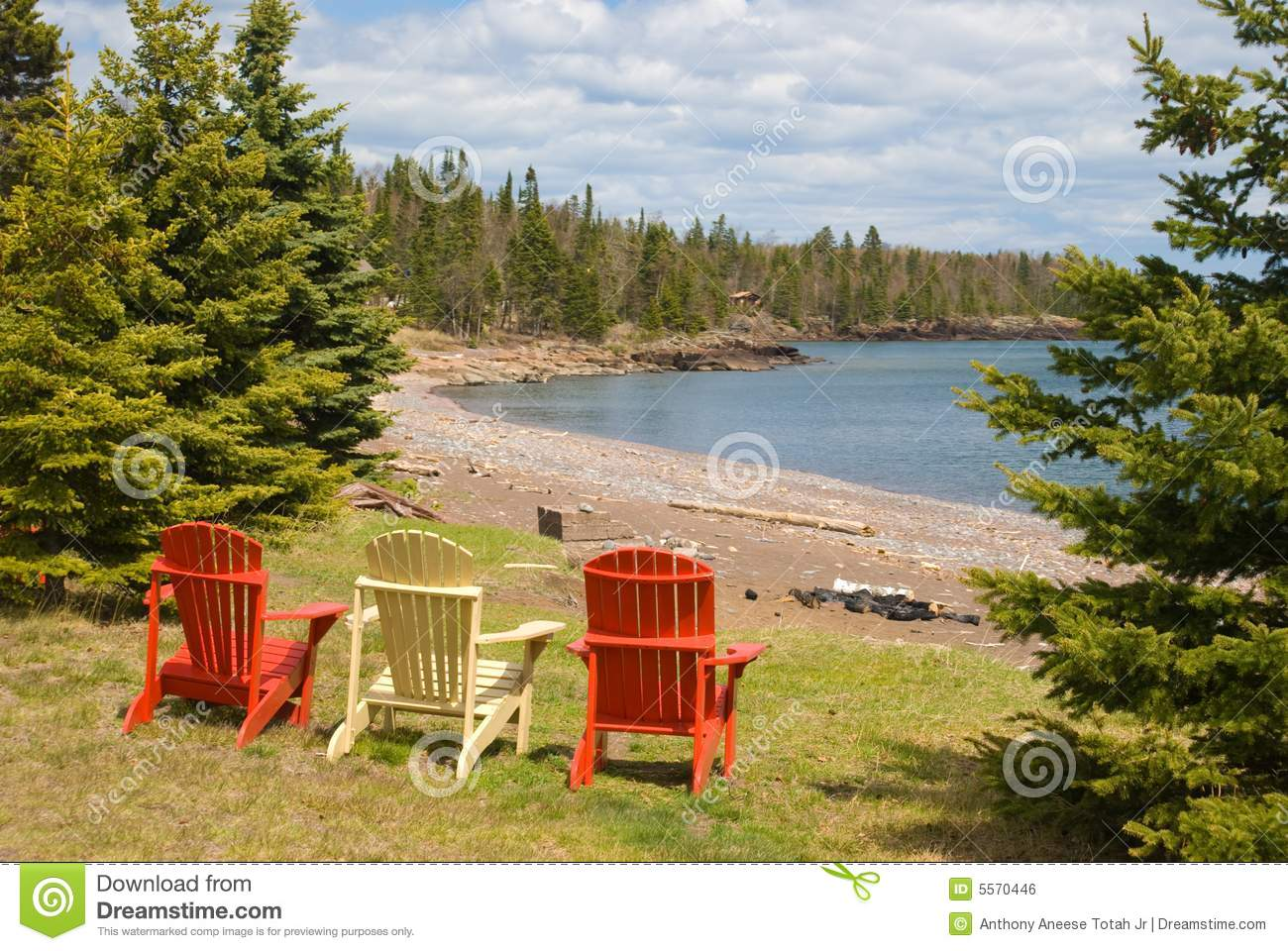Adirondack Chair Royalty Free Stock Image Image
