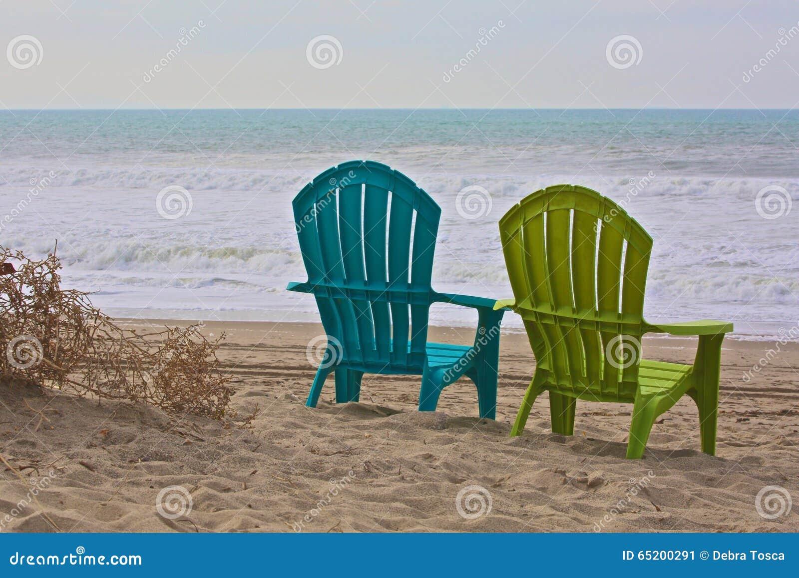 Adirondack chairs ocean stock image. Image of ocean, chairs ...