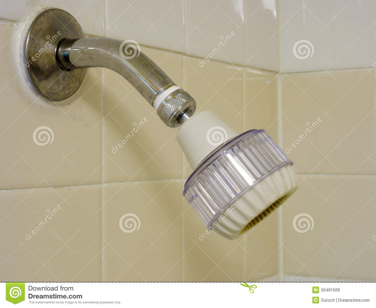 Adjustable Low Flow Showerhead Stock Photo Image 55491509