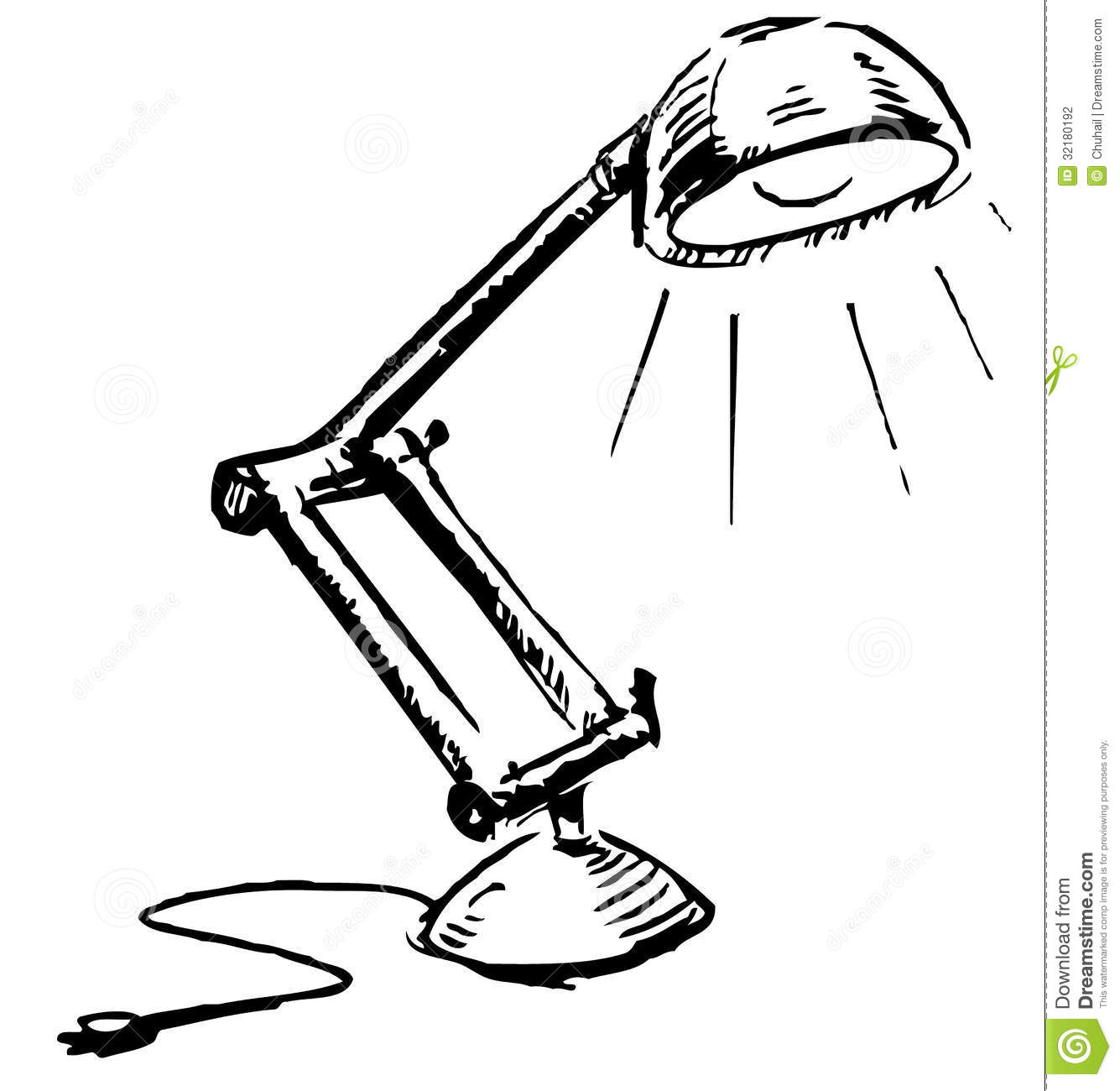 Table Lamp Clipart Black And White ~ Best Inspiration for Table Lamp for Study Lamp Clipart  585hul