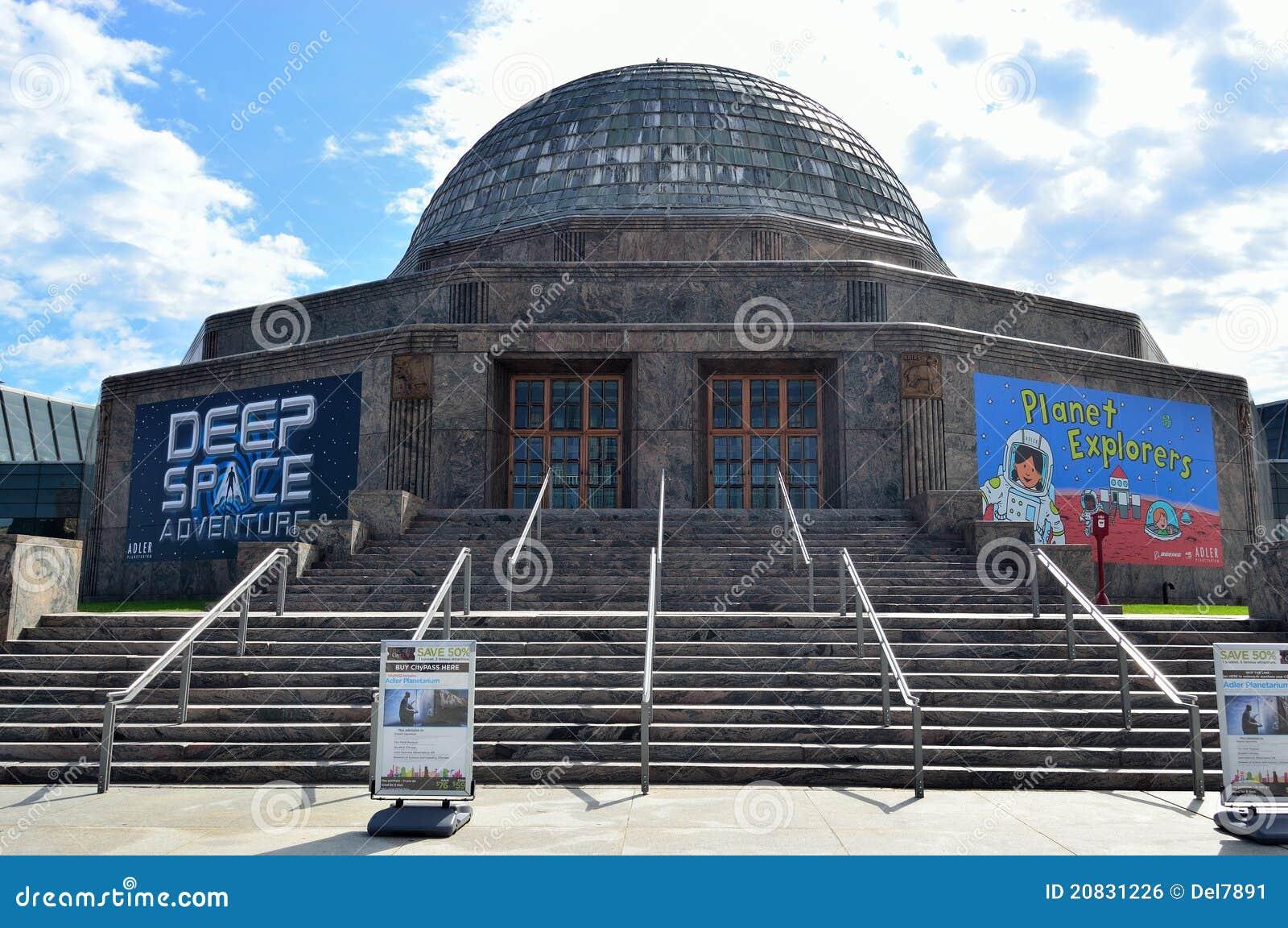 Adler Planetarium In Chicago Editorial Photo - Image of