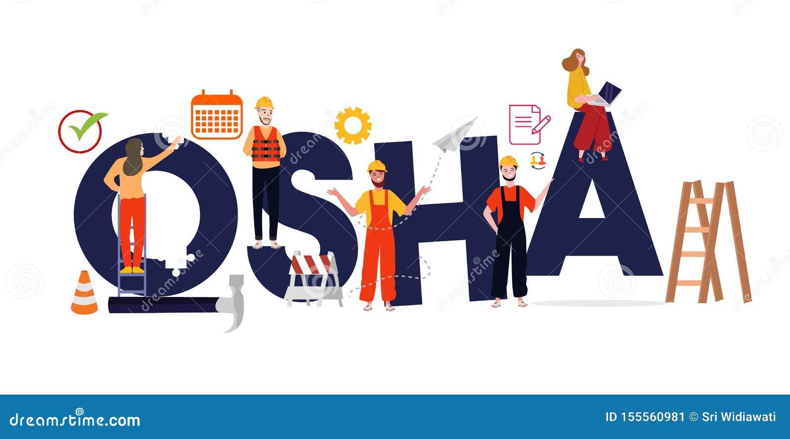 Administration OSHA f?r yrkes- s?kerhet och h?lso Säker miljöreglering för arbetare