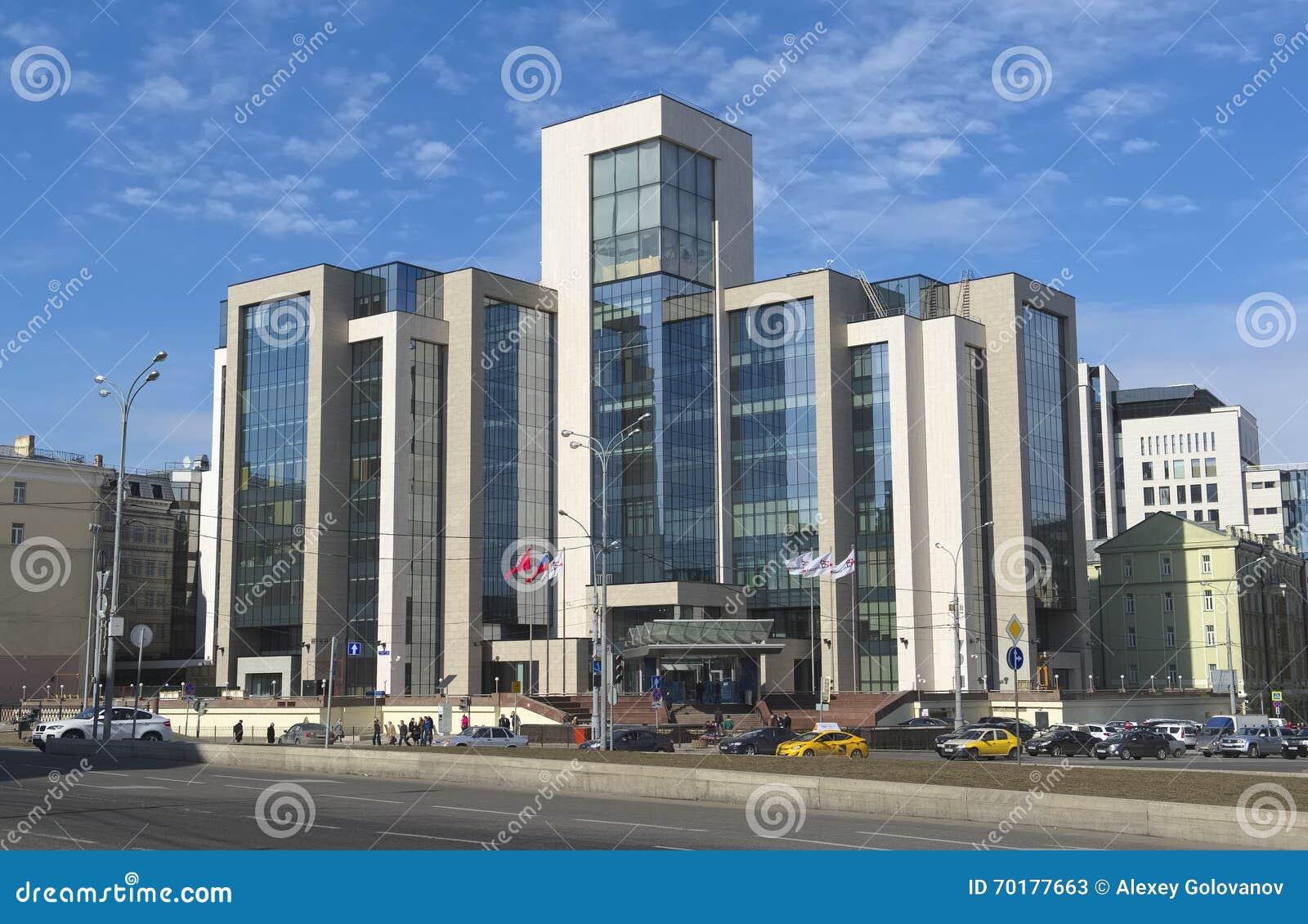 Administrativ byggnad av företaget Lukoil
