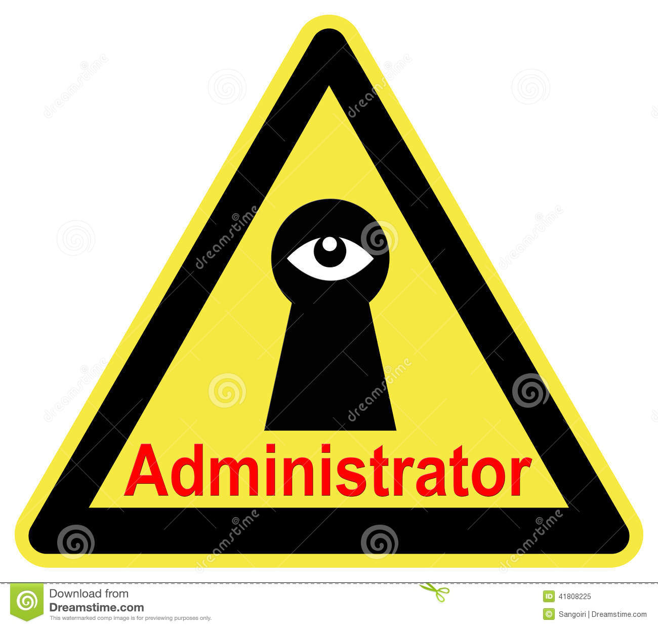 Administrator - The Administrator Is Watching You