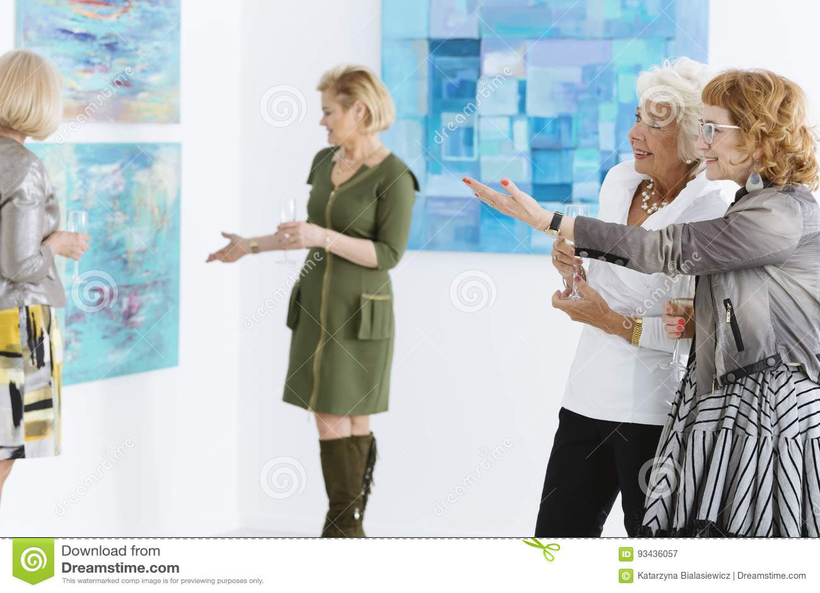Admiración de la pintura