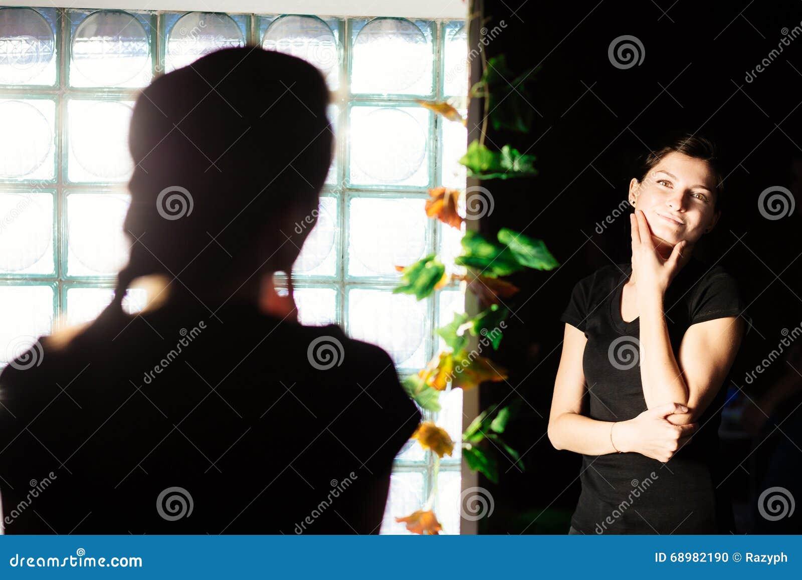 Admiración en el espejo