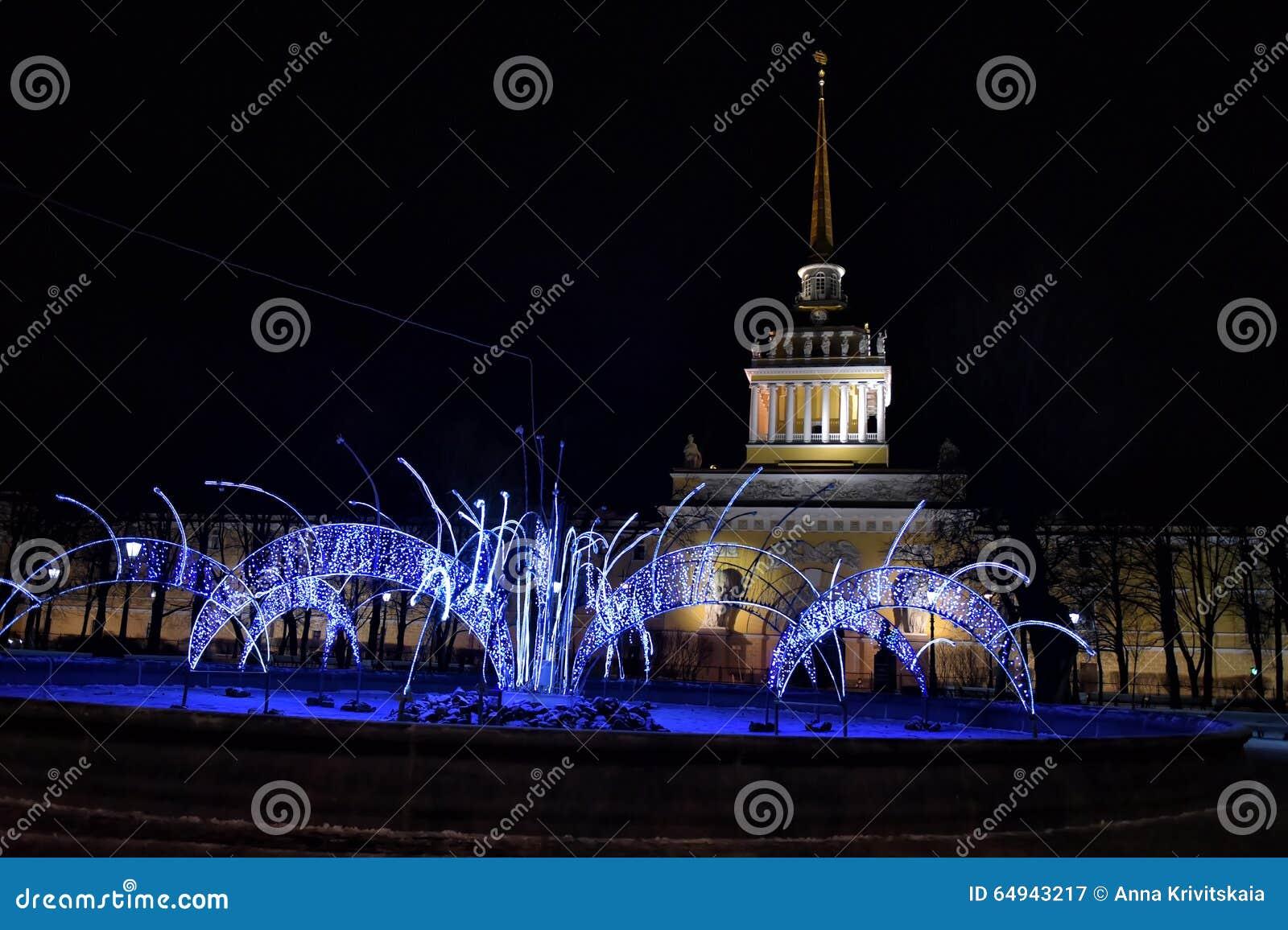 Admiralty com decorações do Natal