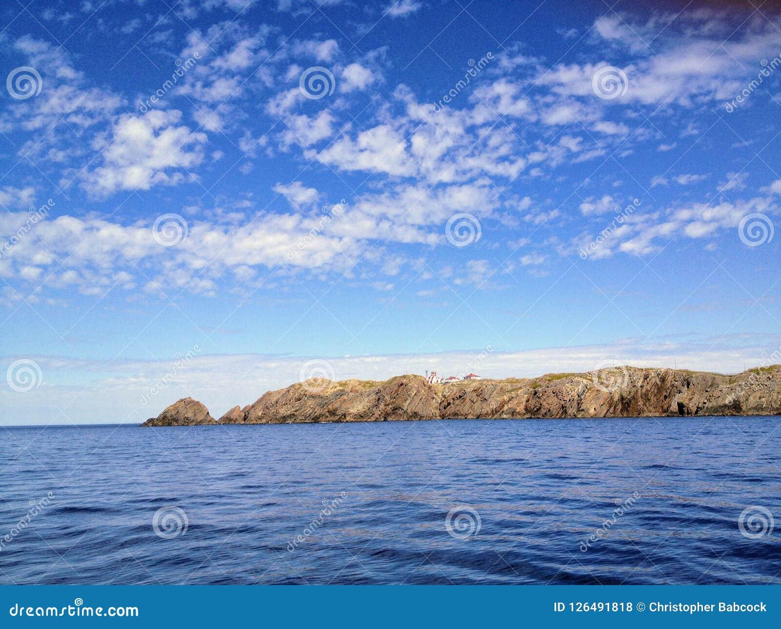 Admiring the beautiful ocean vistas off the coast of Bonavista,
