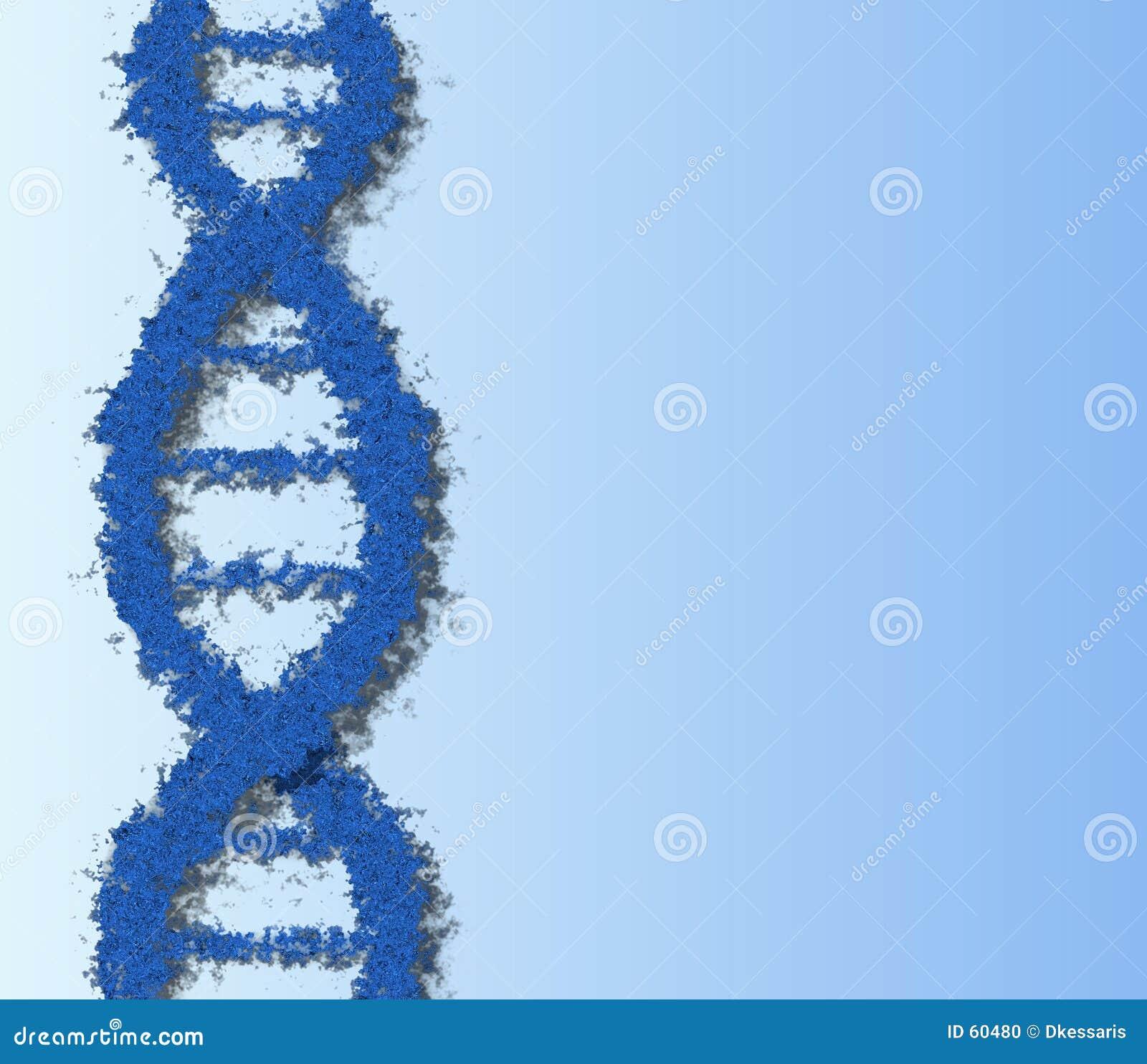 Download ADN bleue illustration stock. Illustration du abstrait, chromosome - 60480