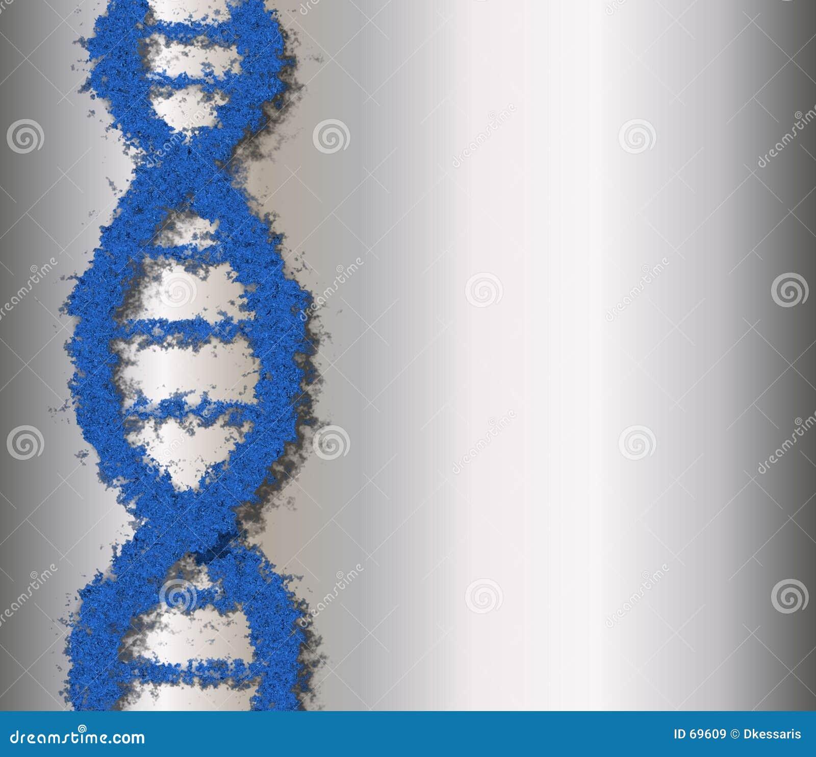 ADN bleue